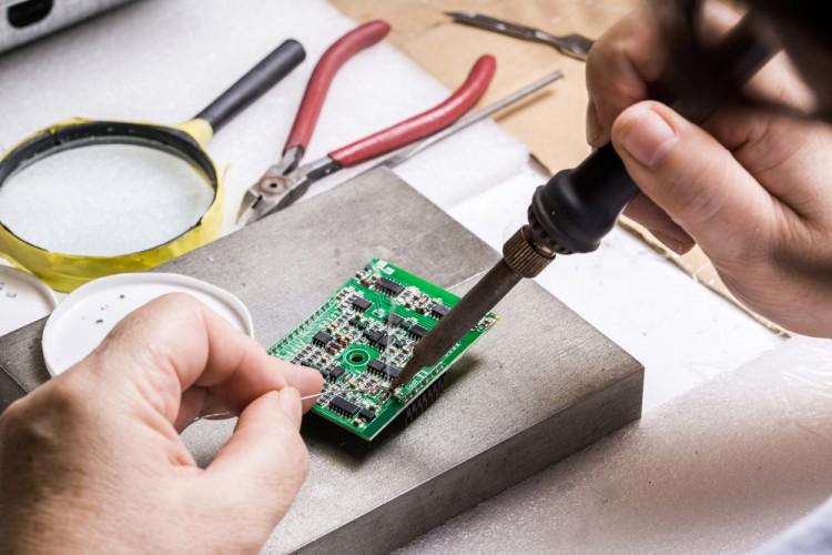 training, closeup, technician, micro, technical, printed, tool, solder, engineering, processor, mount, digital, engineer, circuit, technology, microchip, computer, soldering,