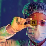 semiconductor, intel, microchip, cpu, processor, people, chip, circuit, microprocessor, person, board, closeup, micro, workwear, protective, megabytes, capacitor,