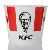kfc, bucket, chicken, colonel, isolated, to-go, meal, fried, harland, white, red, illustrative, harlan, restaurant, name, kentucky, editorial, take-out, sanders, recipe, portrait, fast-