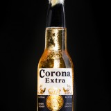 corona, beer, cold, lemon, table, mexican, extra, lime, black, editorial, and,