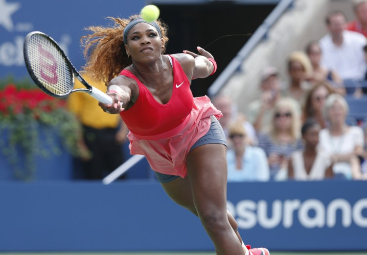 serena, nike, open, us, 2013, wta, points, ceremony, net, national, slam, practice, williams, ball, tennis, new, prize, serve, match, grand, backhand, jean, fitness, york, title,