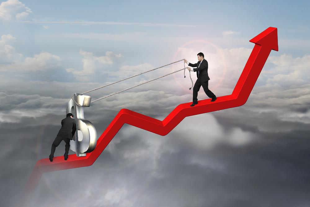 clouds, hard, money, work, statistics, forecasting, heavy, economy, struggle, challenge, business, arrow, line, teamwork, symbol, partnership, diagram, wealth, graphic,