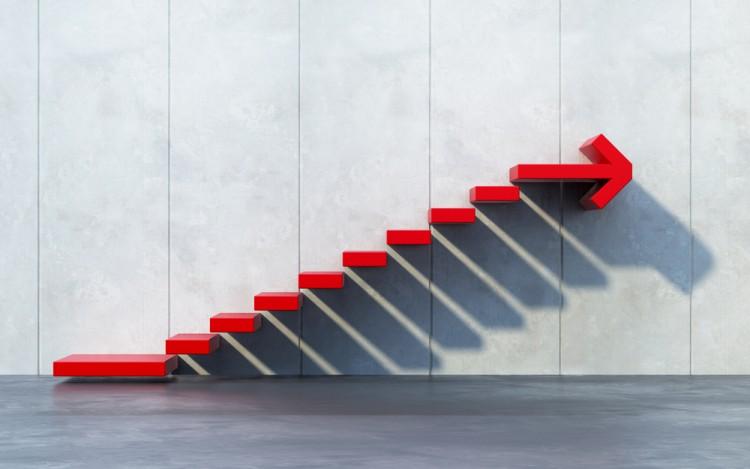 up, motion, way, forward, nobody, achievement, business, concept, arrow, sign, render, line, success, growing, symbol, ascending, finance, rendering, upward, idea,