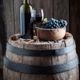 alcohol, autumn, barrel, barrels, beverage, bottle, cabernet sauvignon, cellar, dark, drink, food, fruit, glass, grape, grapes, leaf, merlot, nature, old, red, rural, tasting, vine, vines, vineyard, vintage, wine, wineglass, winery, wood, wooden