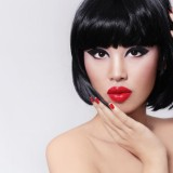allure, asian, attractive, beautiful, beauty, bob haircut, brunette, care, cat eyes, coloration, complexion, cosmetics, cosmetology, elegance, eyeliner, female, femininity, fillers, girl, hair, hairdo, hairdresser, hairdressing, hairstyle, healthy, lips, lovely, makeup, manga, manicure, model, plastic surgery, pretty, red lipstick, sensual, skin, skincare, treatment, woman, young
