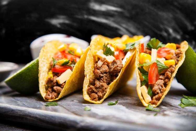authentic, beans, beef, board, cheese, chicken, cilantro, corn, cutboard, diner, dinner, fast, food, fresh, green, ground, lettuce, lime, lunch, marble, meal, meat, mexican, nobody, onion, out, plate, restaurant, salsa, sauce, serve, serving, snack, soft, spicy, surface, taco, tacos, take, takeout, tomato, tortilla, vegetables, wood, yellow