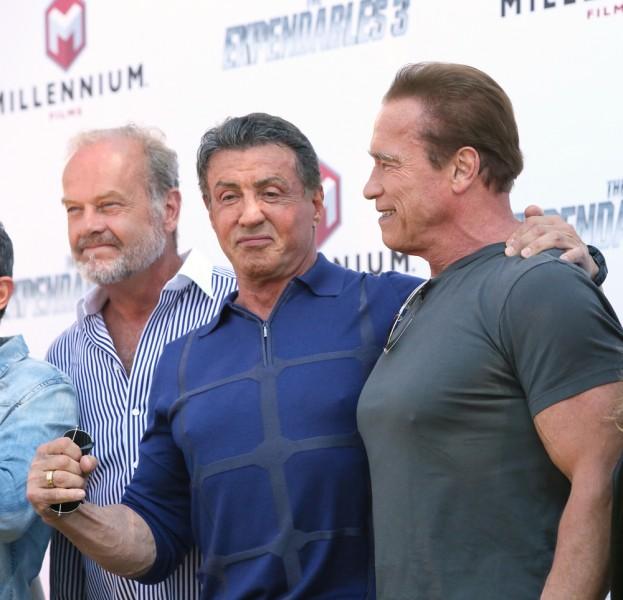 Arnold Schwarzenegger Stallone Frasier