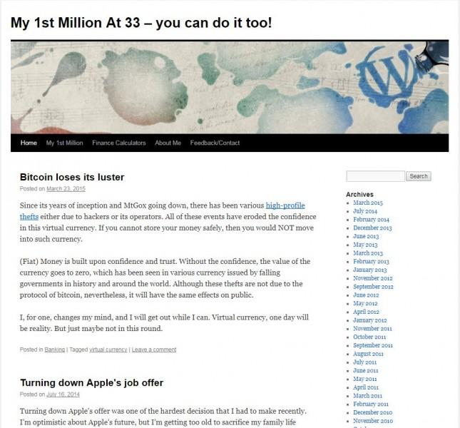 firts million