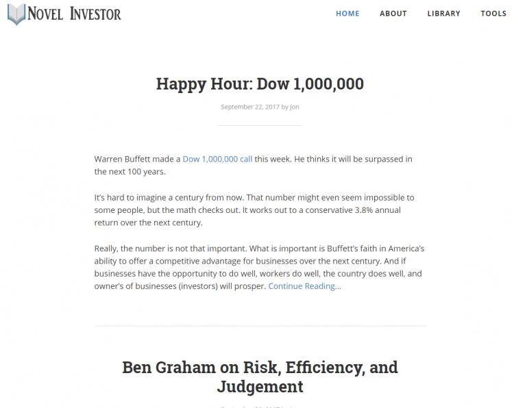 novel investor