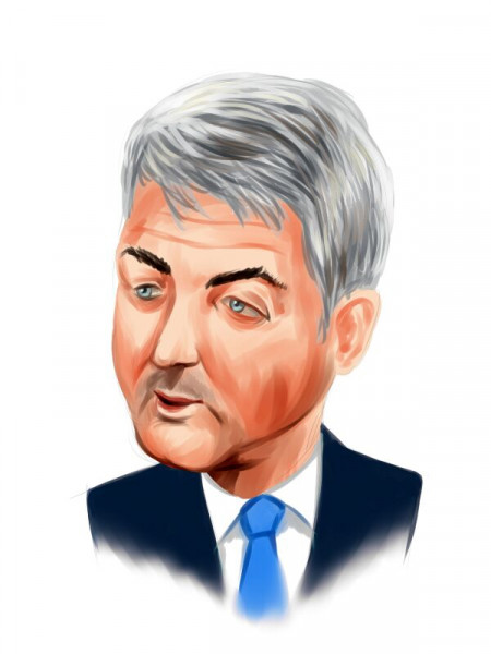 Bill Ackman Head