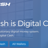 Screenshot from Dash.org