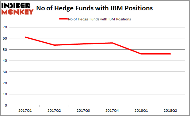 IBM Hedge Fund Ownership