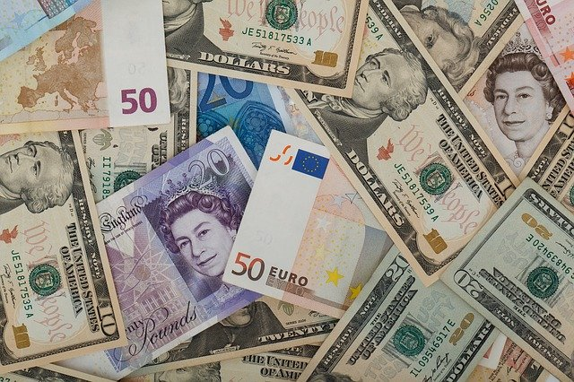 pound euro dollar money foreign exchange mixture-69523_640