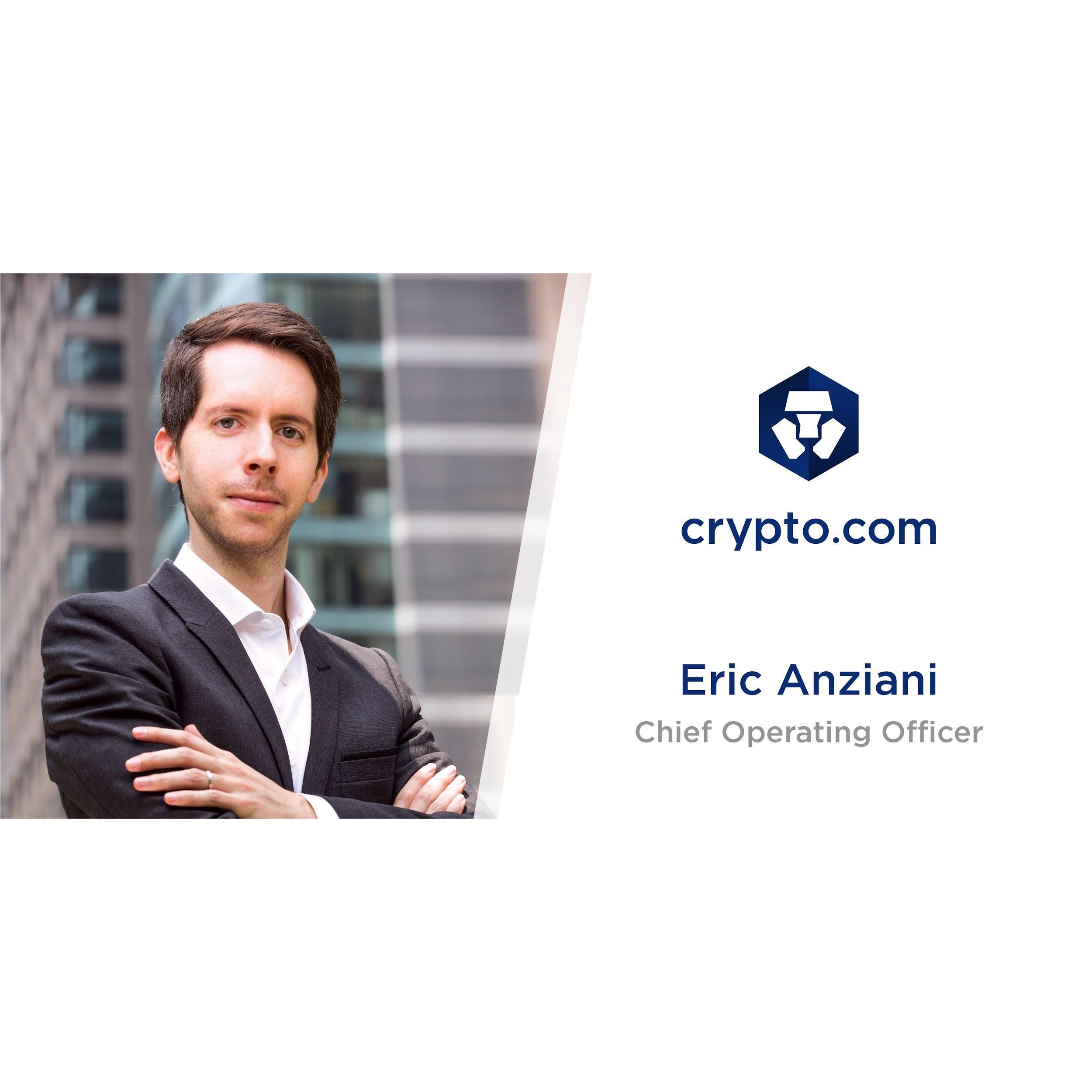 Eric Anziani Crypto.com