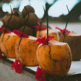 Coconut, Island, juice, cocktail
