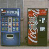 Coke, Pepsi, softdrinks